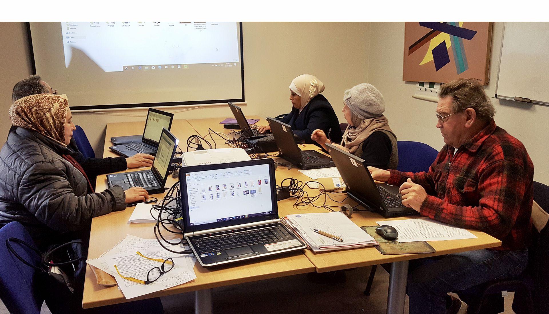 Inclusion numérique - niveau débutant