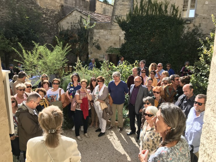 Vernissage Jardin Médiéval - octobre 2019