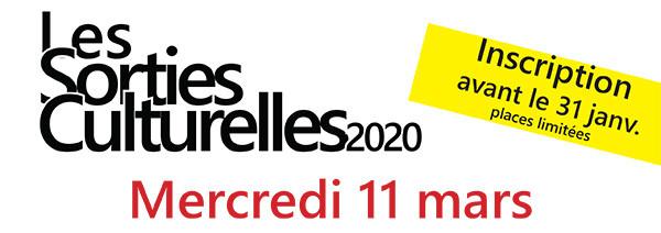Sortie culturelle à Aix-en-Provence   mars 2020